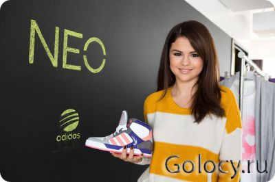 Selena Gomez для Adidas NEO