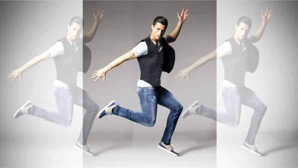 реклама обуви от Роналду