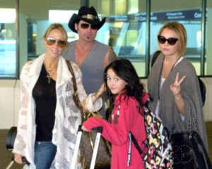 Майли Сайрус и семья