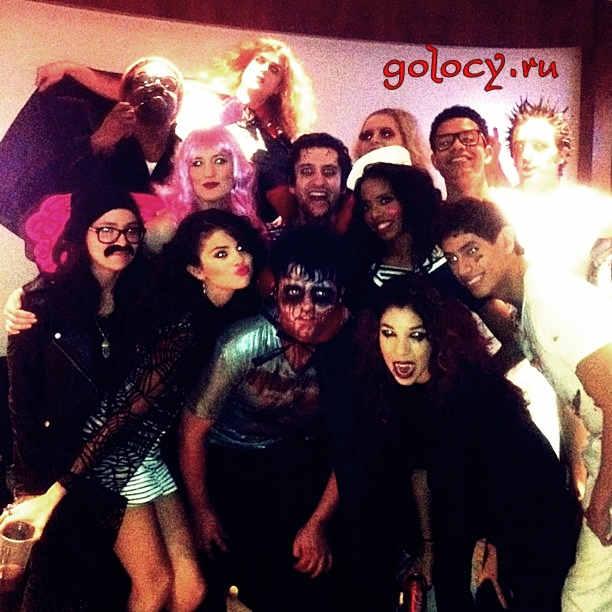 Селена Гомез на Хэллоуин-вечеринке