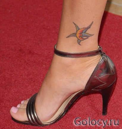 Меган Фокс. Цветная татуировка