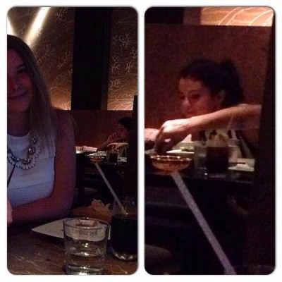 Фотографии с фанатами после ужина в Майами