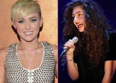 """Слова Lorde: """"Я восхищаюсь Майли Сайрус"""""""