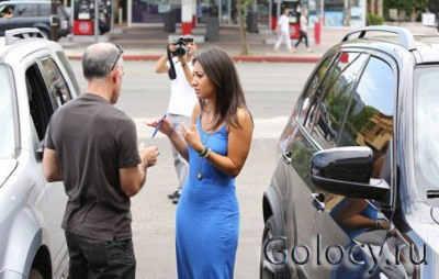 Селена Гомес попала в аварию