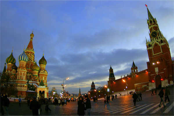 Москва - центральная площадь