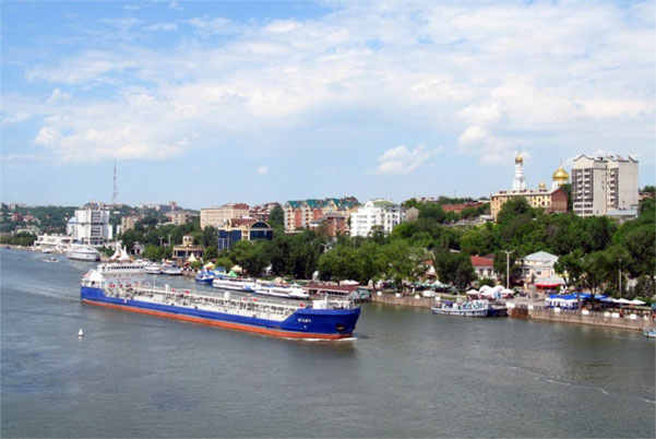 облик города Ростова