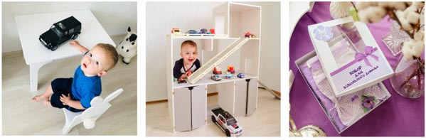 детские игрушечные домики